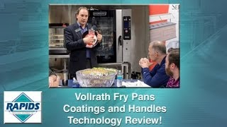 Vollrath Fry Pan Handles and Non-stick Coatings Spotlight (Review) from RapidsWholesale.com