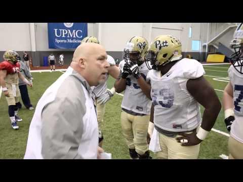Pitt Offensive Line Coach | John Peterson | PittLiveWire