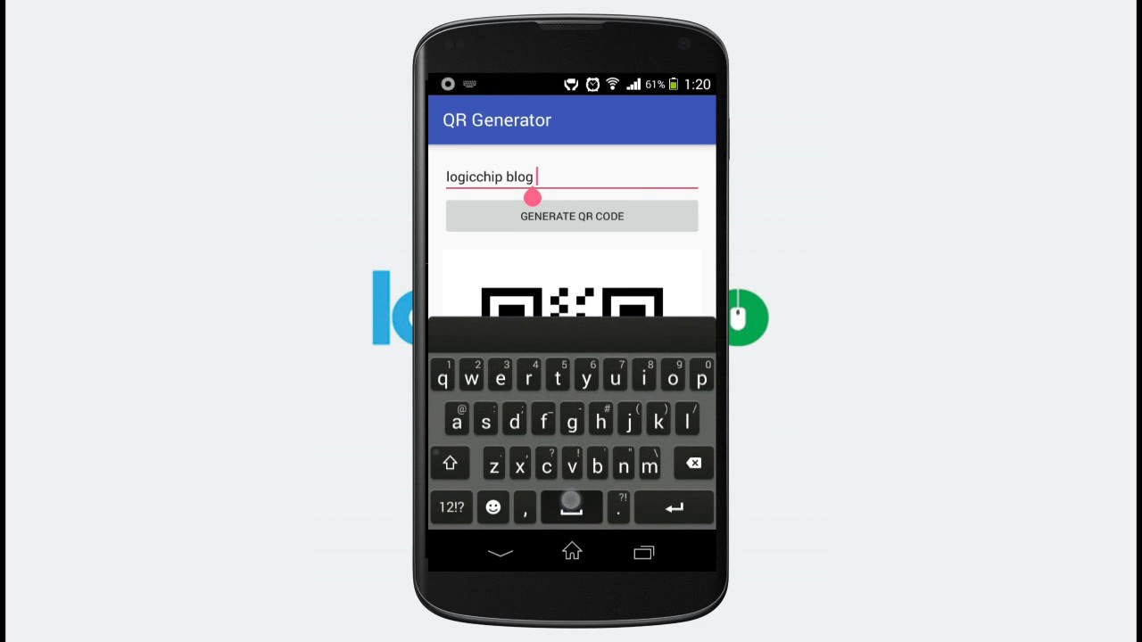 Qr Code Reader for Android And Qr Code Generator for Android-Logicchip
