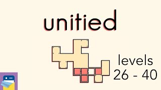 Unitied: Levels 26 - 40 Walkthrough Guide & iOS / Android Gameplay (by Peter Hijma)