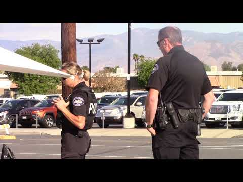 Keeping Police Accountable,  Pedestrian Stop:  Redlands CA.