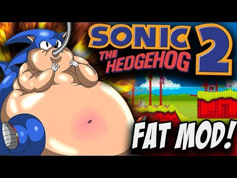 This mod makes Sonic Fat?