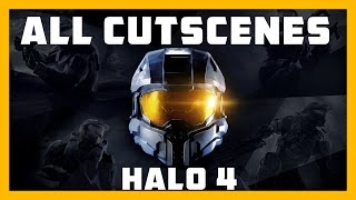 Halo: MCC | Halo 4 | All Cutscenes with Legendary Ending