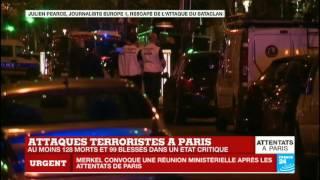 Attentats à Paris : Un rescapé du Bataclan raconte le carnage