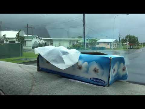 Second video about  american samoa hurricane