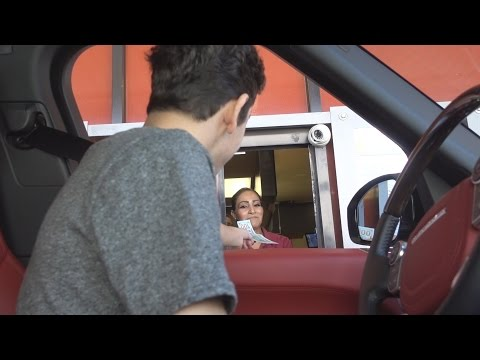 Thumbnail: TIPPING DRIVE THRU WORKERS 100 DOLLARS
