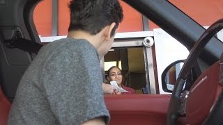 Download TIPPING DRIVE THRU WORKERS 100 DOLLARS Mp3 and Videos