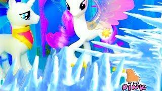 My Little Pony Май Литл Пони Мультик MLP КРИЗАЛИС ХОЧЕТ КОРОНУ! | My Toys Pink Video