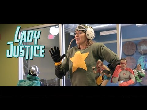Lady Justice ep1: Realistic Super Hero Beauty Standards