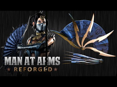 Kitana's War Fans (Mortal Kombat X)- MAN AT ARMS: REFORGED