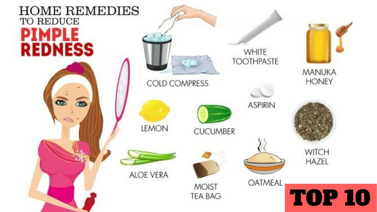Home remedies to reduce acne redness