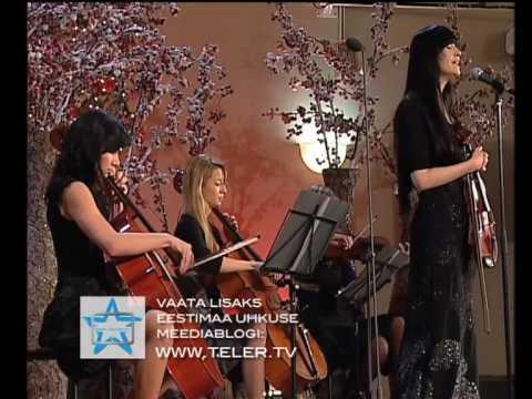 """Sandra Nurmsalu Urban Symphony """"Päikese poole"""" Eestimaa uhkus 2009"""