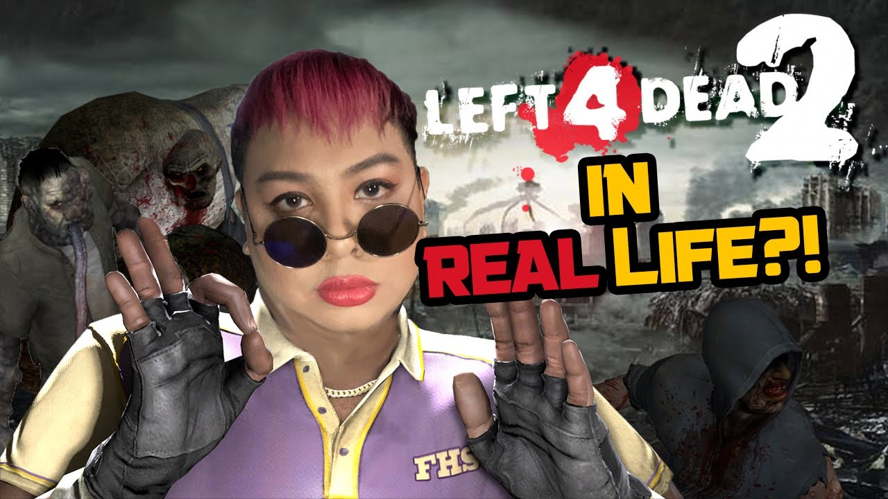 L4D2 but the ZOMBIES ARE REAL?!   Left 4 Dead 2 The Last Stand