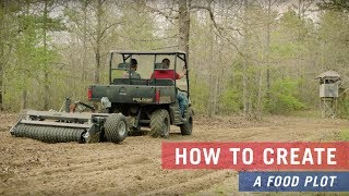 How to create a Food Plot with Tarter products