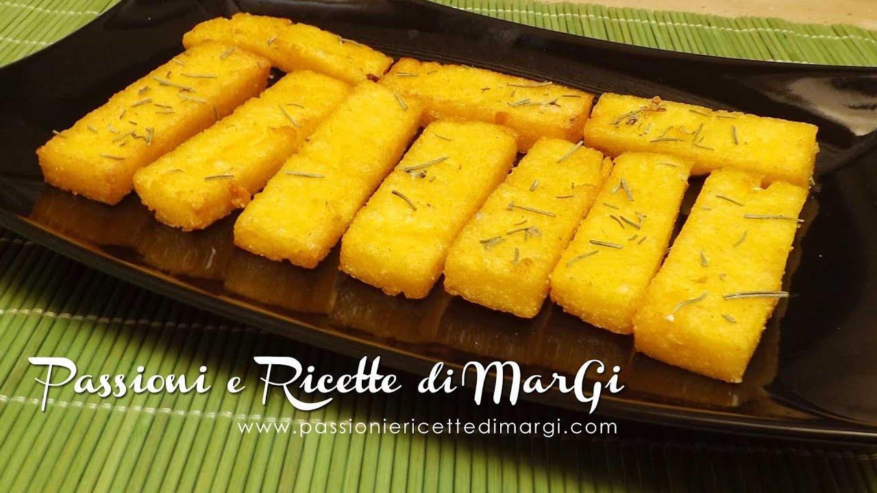abbastanza Bastoncini di polenta fritta - passioni e ricette di MarGi - YouTube JG97