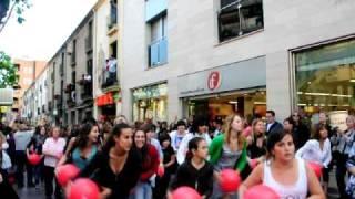 Flashmob Sabadell 21.05.2010
