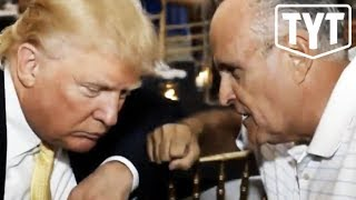 Trump Throws Rudy Giuliani To The Wolves