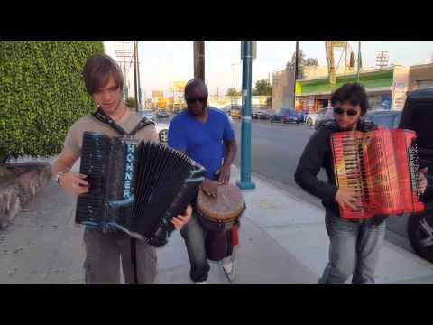 Flash Accordion Mob - Cory Pesaturo & Matthias Matzke