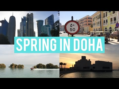 Travel with me: Spring in Doha