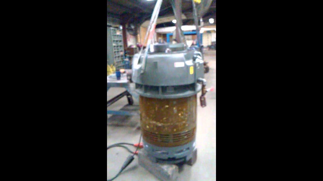 150 Hp Vertical Electric Motor Repair Youtube