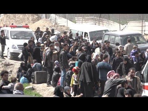 Из Восточной Гуты вывели почти 11 тысяч человек