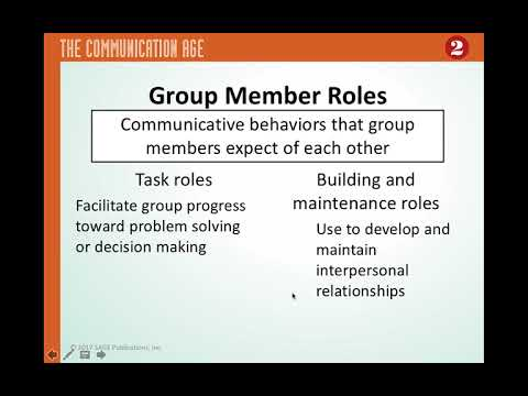 Chapter 8   Small Group and Team Communication