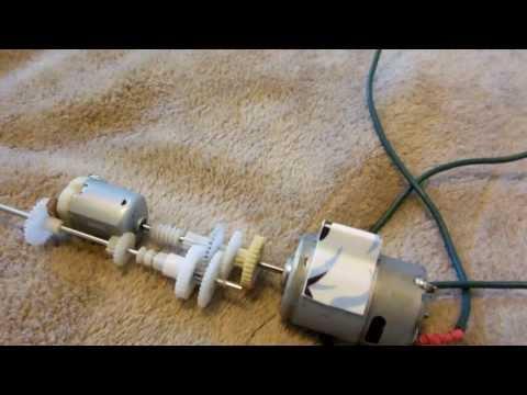DIY RC 2-speed manual transmission Part 3