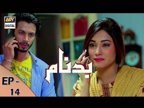 Badnaam Episode 14 - 19th November 2017 - ARY Digital Drama