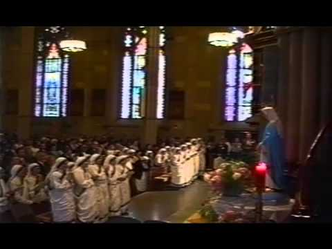 Father Christopher Hartley. Mother Teresa of Calcutta. MC vows at Saint Patrick´s Old Cathedral, NY