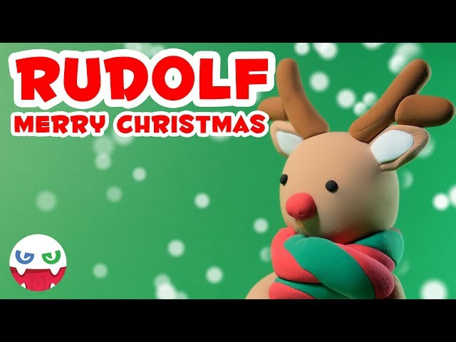 How to Make a Rudolf with Clay [Merry Christmas]