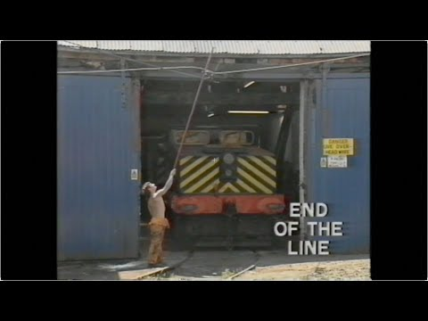 'END OF THE LINE' Harton Electric Coal Railway by British Coal Television