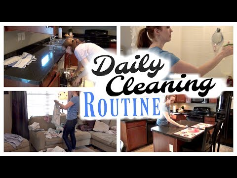MY DAILY CLEANING ROUTINE – SUMMER EDITION | STAY AT HOME MOM CLEAN WITH ME
