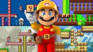 Super Mario Maker IGN Challenge: Koopa Clown Car Antics
