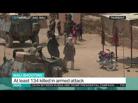 At least 134 killed in armed attack in Mali