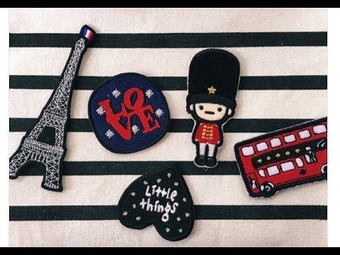 隨處可貼的刺繡貼紙~德德小品集 介紹 韓國