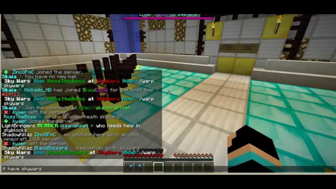 Cracked Minecraft Server SkyBlock TntRun Pantball - Minecraft server erstellen 1 8 cracked