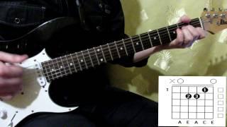 """Кино """"Апрель"""" аккорды как играть уроки на гитаре"""