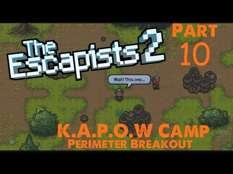 Posters - Pt. 10 - K.A.P.O.W Camp (Team Perimeter Break) - The Escapists 2