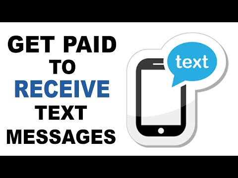 GET PAID TO RECEIVE TEXT MESSAGES! (No Ads To Watch Or Click!!)