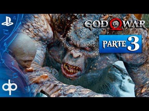 GOD OF WAR 4 PS4 Parte 3 Gameplay Español PS4 PRO 60fps | La Bruja del Bosque (God of War 2018)