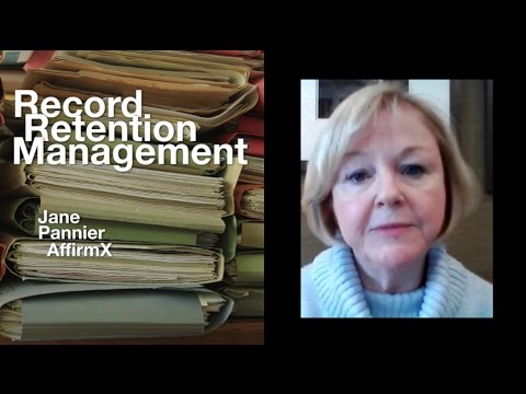 Risk Watch 123: Record Retention Management