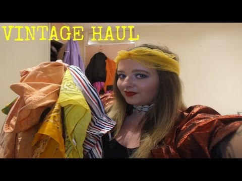 VINTAGE HAUL 2016 | SHOP EASY TIGER | NINE CROWS | DUBLIN VINTAGE FACTORY | SHOP TIGERS EYE |