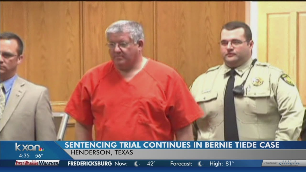 bernie tiede case I had heard and seen all of bernie tiede' bernie's case at this point is not about getting away with anything — it is now my journey with bernie show.