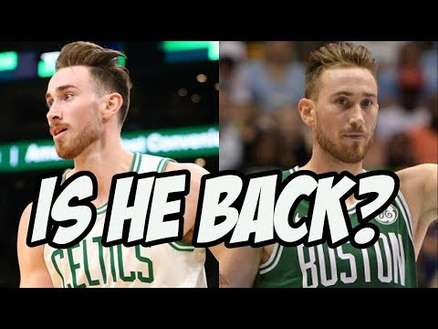 Gordon Hayward Might Just Be Turning It Around
