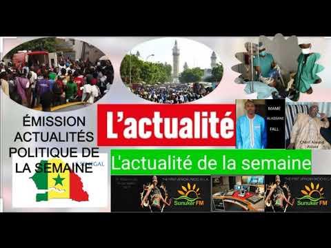 ACTUALITÉS POLITIQUE DE LA SEMAINE AVEC CHÉRIF ELWALID AIDARA - SPÉCIAL MOUSTAPHA CISSÉ LÔ