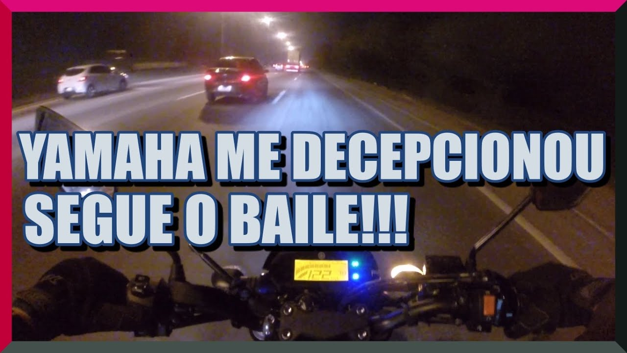 RETIRAMOS A MOTO DA YAMAHA SEGUE O FEEDBACK !!!!