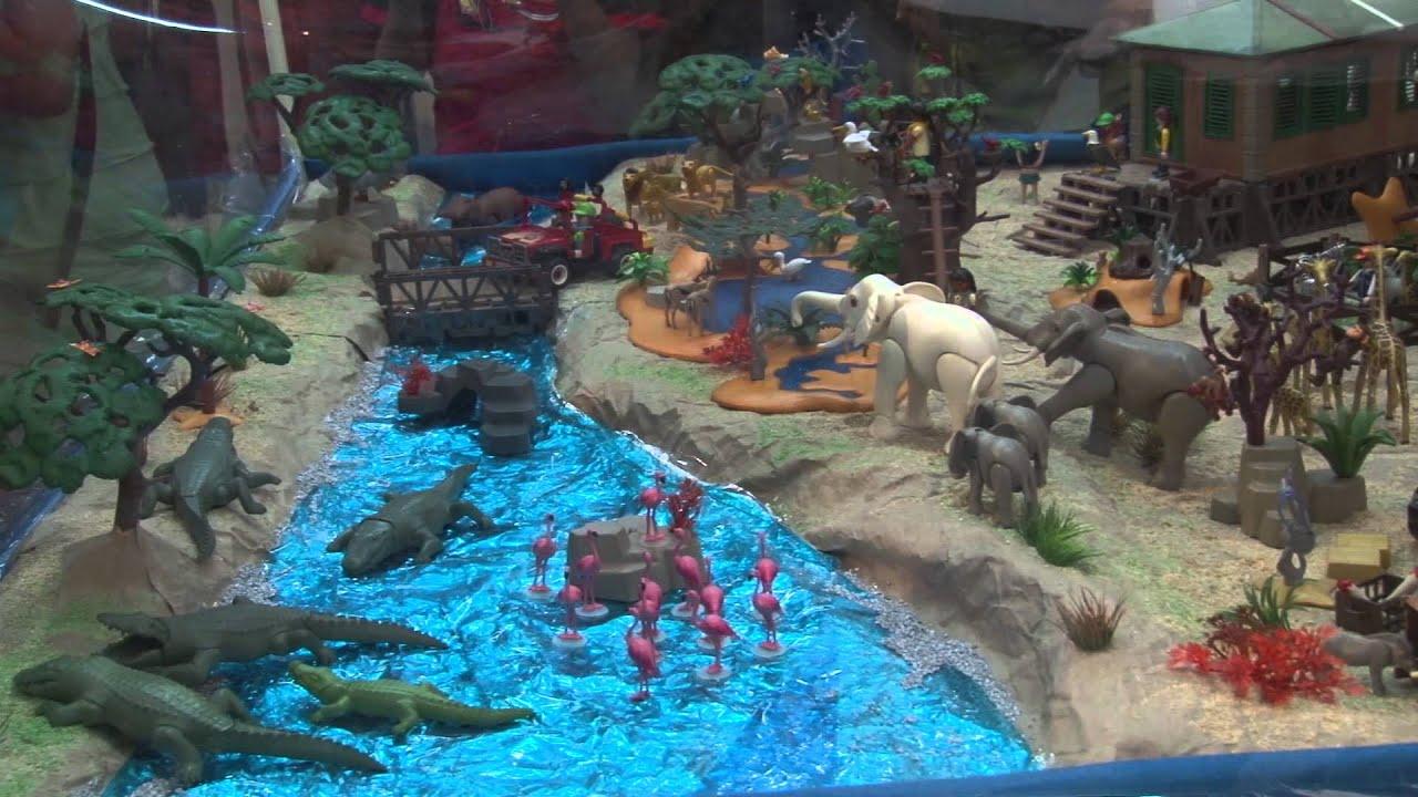 Diorama Safari 3ra Expo Playmobil M 233 Xico Youtube