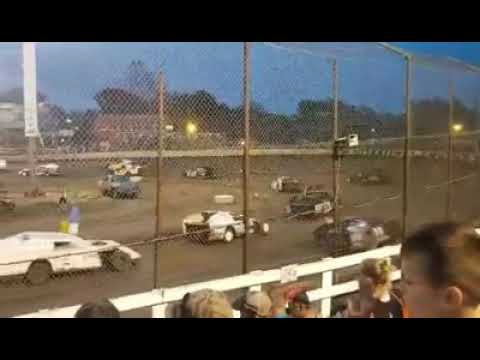 Macon Speedway 05-18-2019 Pro mod feature #74 Billy Adams cub car