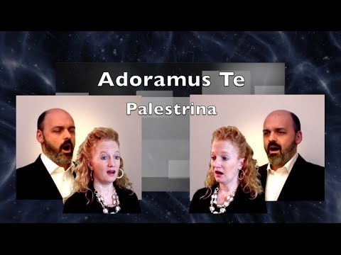 Adoramus Te Palestrina International multitrack  Julie Gaulke and Enrico Imbalzano