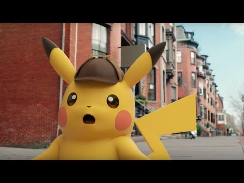 Detective Pikachu Official Japanese Trailer